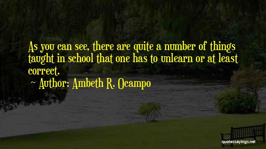 Ambeth R. Ocampo Quotes 1949930