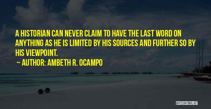Ambeth R. Ocampo Quotes 2158130