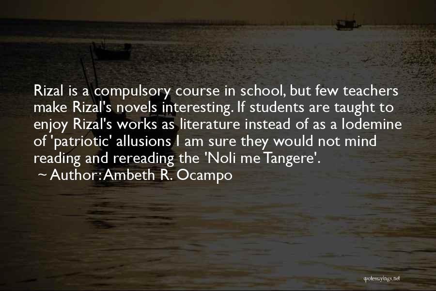 Ambeth R. Ocampo Quotes 2237813