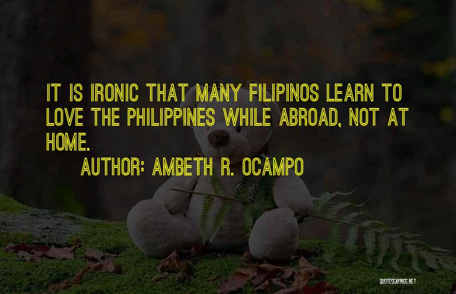 Ambeth R. Ocampo Quotes 479394