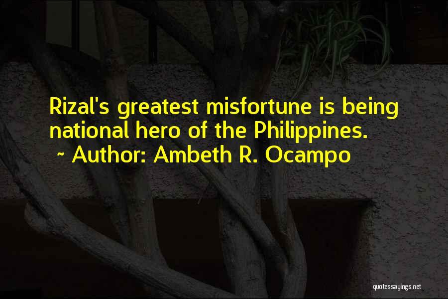 Ambeth R. Ocampo Quotes 571998