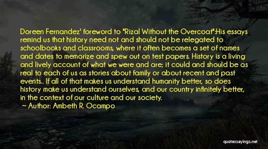 Ambeth R. Ocampo Quotes 815678
