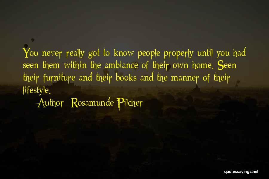 Ambiance Quotes By Rosamunde Pilcher