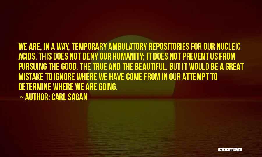 Ambulatory Quotes By Carl Sagan