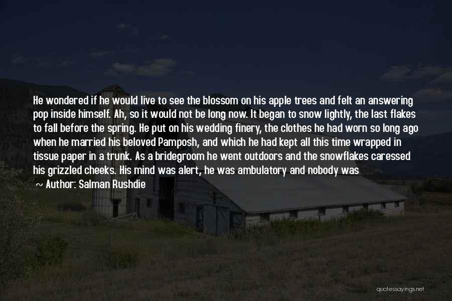 Ambulatory Quotes By Salman Rushdie