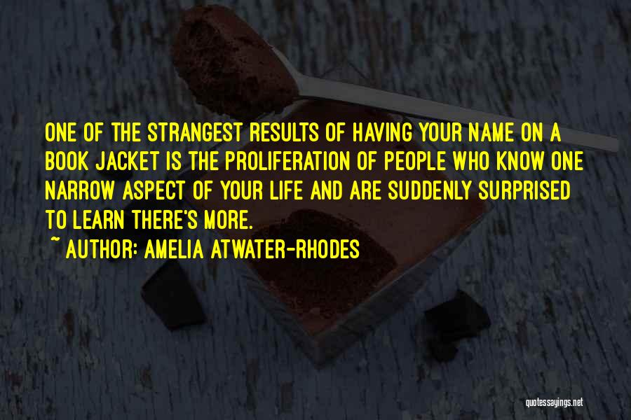 Amelia Atwater-rhodes Book Quotes By Amelia Atwater-Rhodes