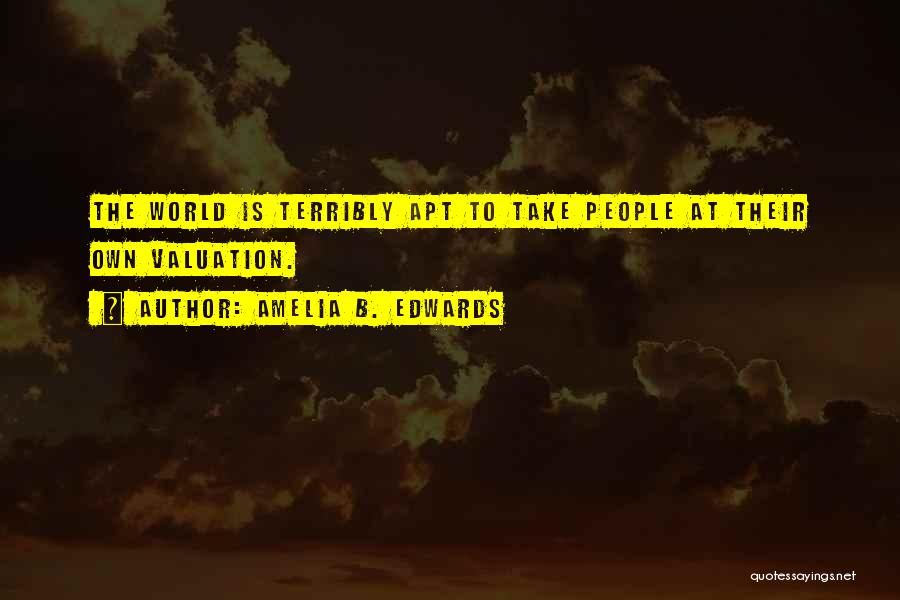 Amelia B. Edwards Quotes 1090180