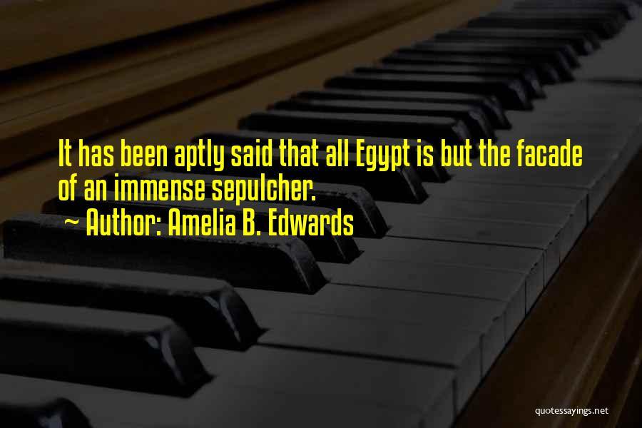 Amelia B. Edwards Quotes 841876