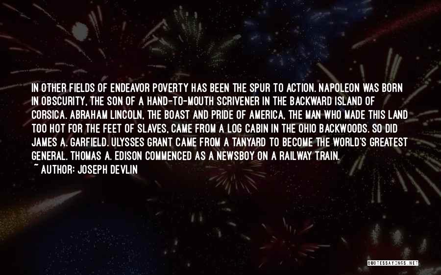 America Abraham Lincoln Quotes By Joseph Devlin