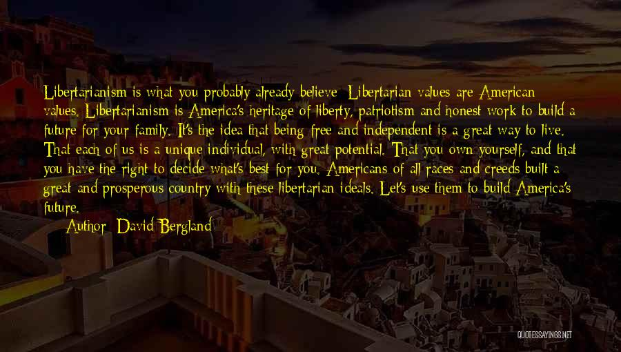 America Being The Best Country Quotes By David Bergland