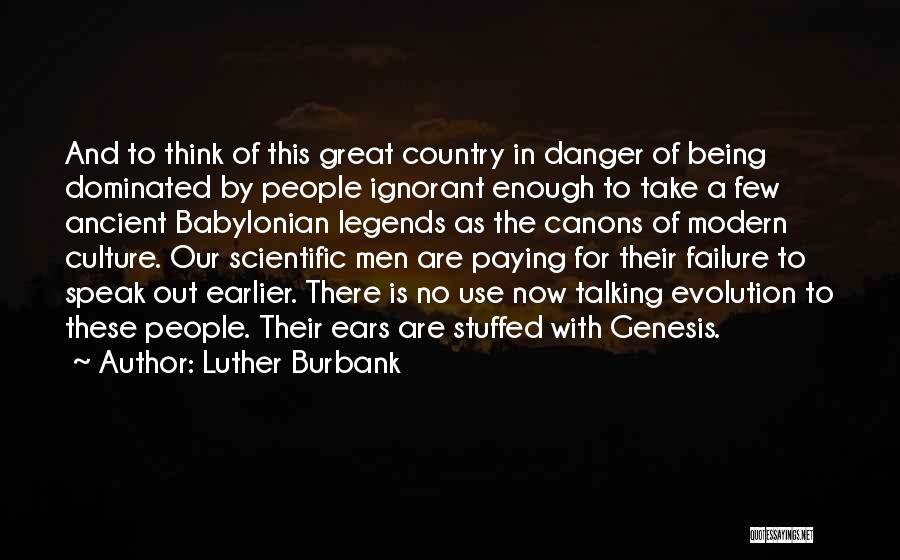 America Being The Best Country Quotes By Luther Burbank