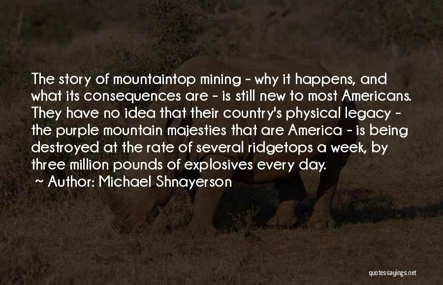America Being The Best Country Quotes By Michael Shnayerson