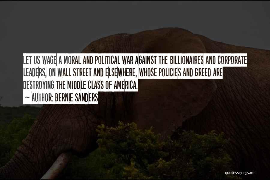 America Destroying Itself Quotes By Bernie Sanders