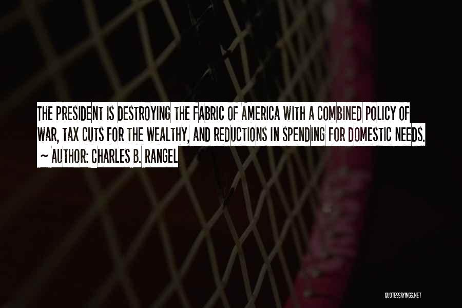 America Destroying Itself Quotes By Charles B. Rangel