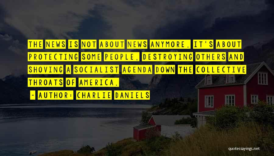 America Destroying Itself Quotes By Charlie Daniels
