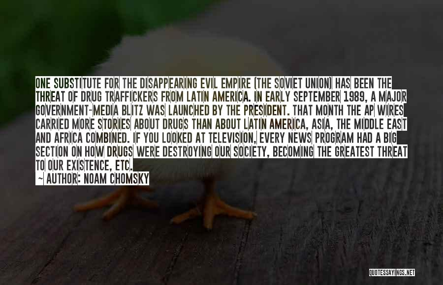 America Destroying Itself Quotes By Noam Chomsky