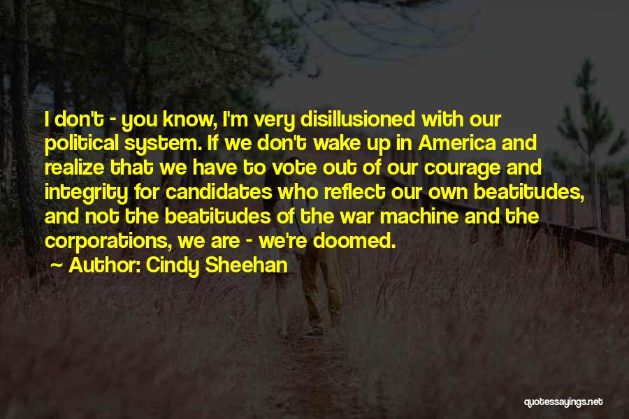 America Is Doomed Quotes By Cindy Sheehan