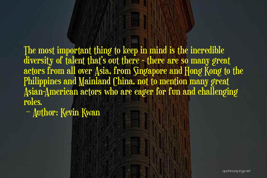 American Diversity Quotes By Kevin Kwan
