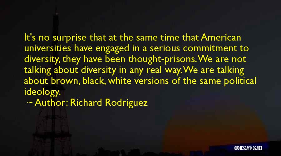 American Diversity Quotes By Richard Rodriguez