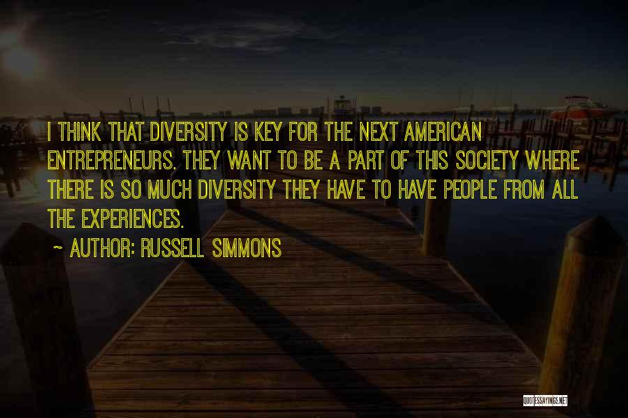 American Diversity Quotes By Russell Simmons