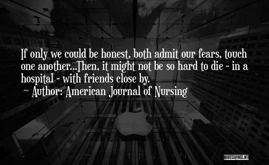 American Journal Of Nursing Quotes 1983573