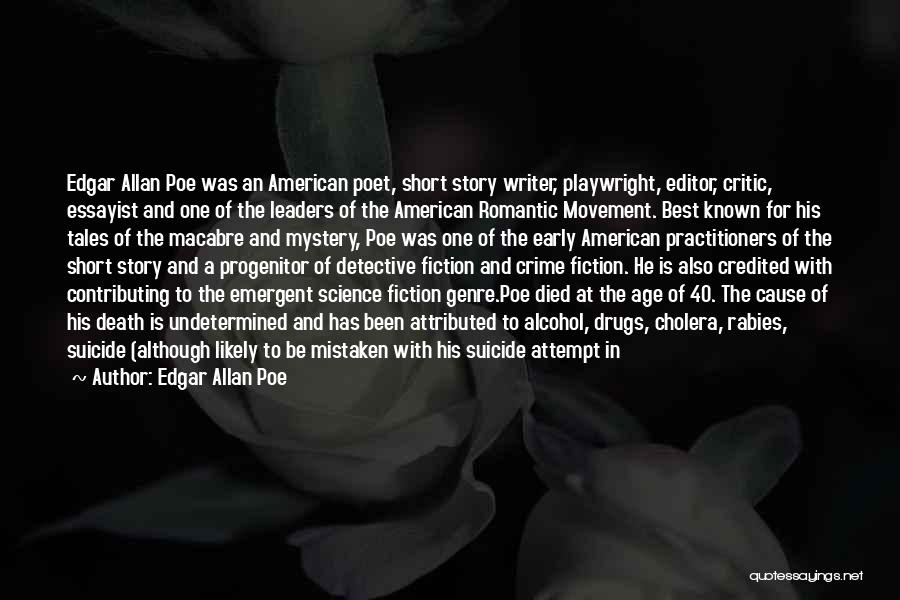 American Playwright Quotes By Edgar Allan Poe