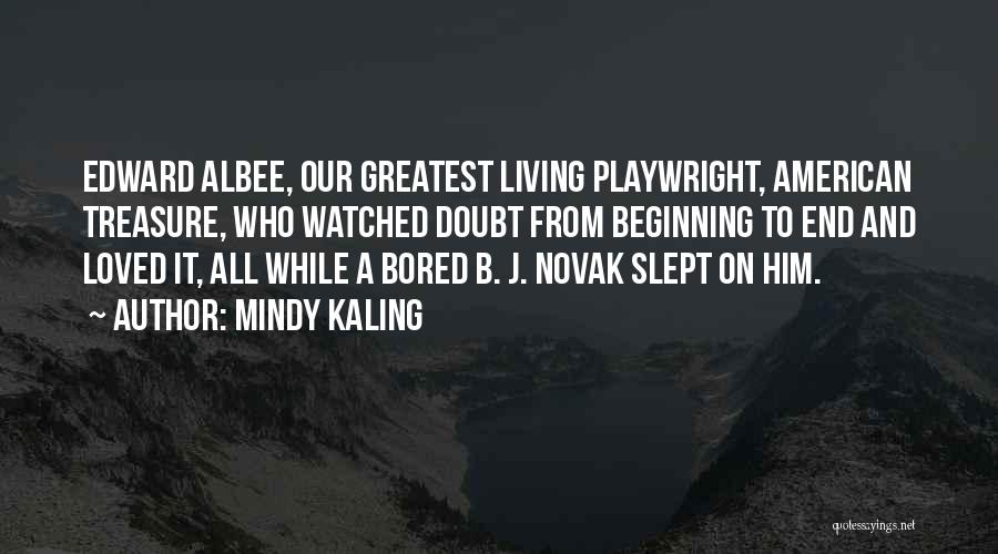 American Playwright Quotes By Mindy Kaling