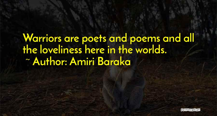Amiri Baraka Quotes 1160454