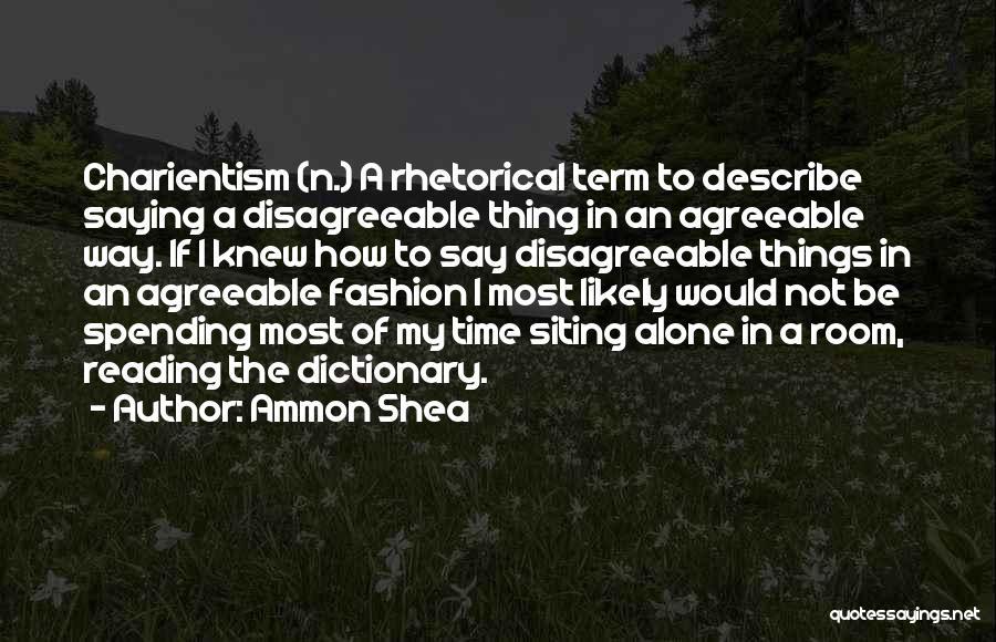 Ammon Shea Quotes 1177450