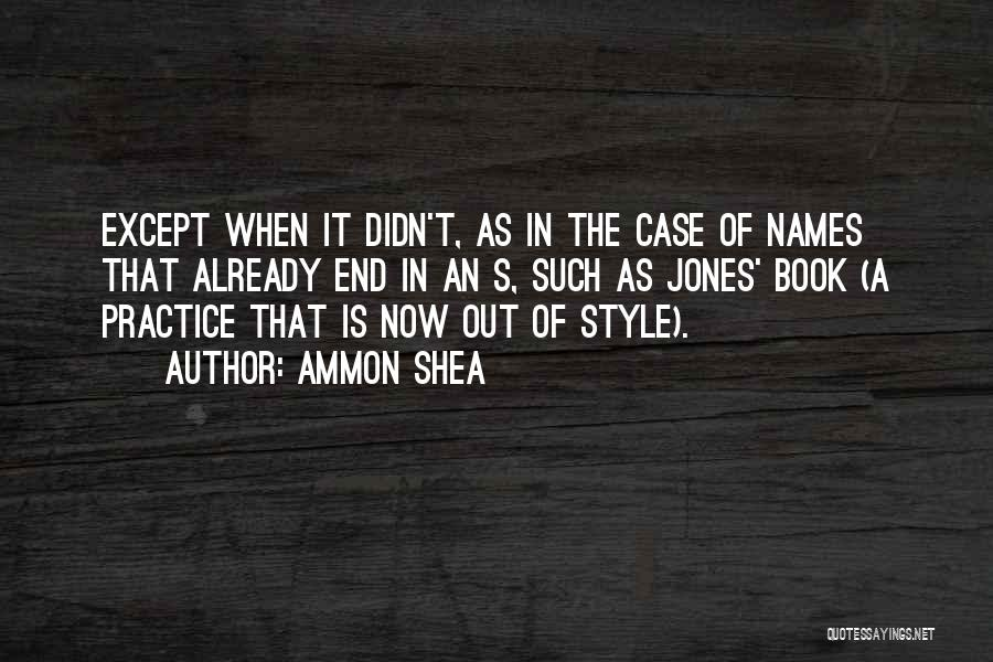 Ammon Shea Quotes 122244