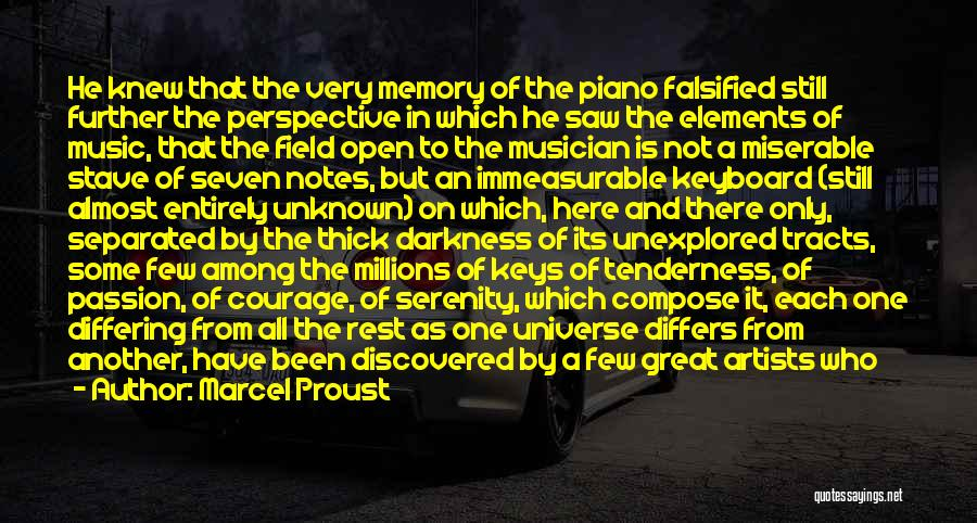 Among The Hidden Quotes By Marcel Proust