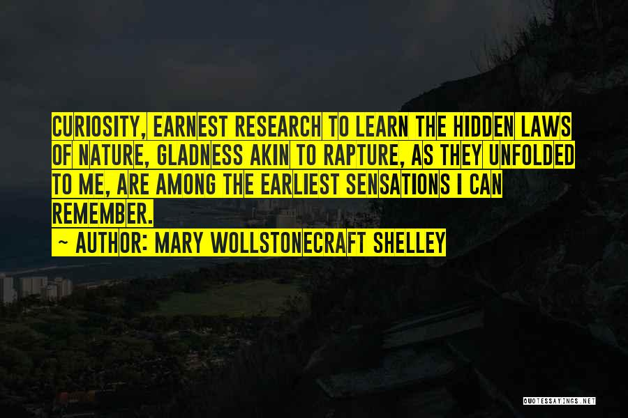 Among The Hidden Quotes By Mary Wollstonecraft Shelley