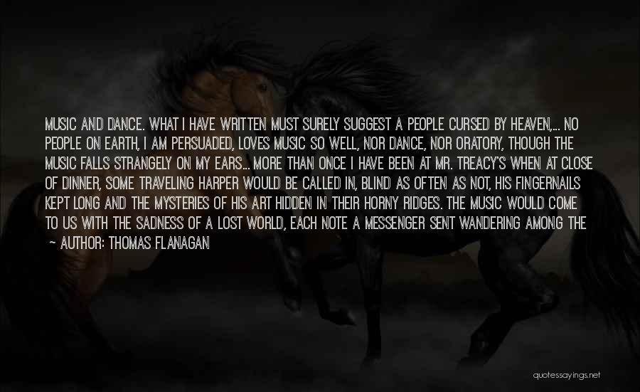 Among The Hidden Quotes By Thomas Flanagan