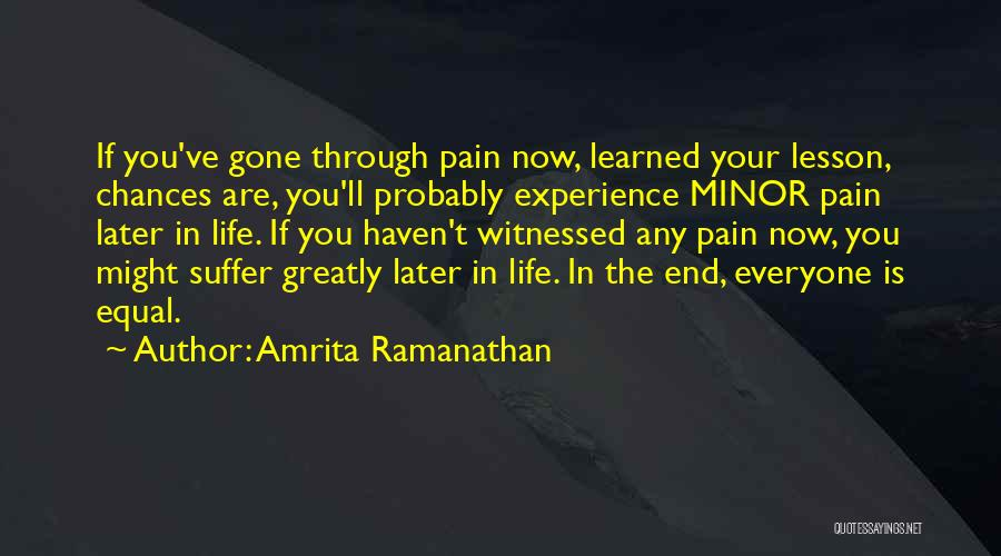 Amrita Ramanathan Quotes 284987