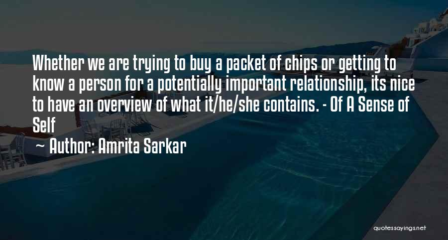 Amrita Sarkar Quotes 780146