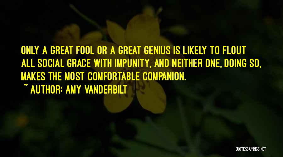 Amy Vanderbilt Quotes 1128399
