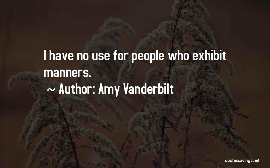 Amy Vanderbilt Quotes 1562202