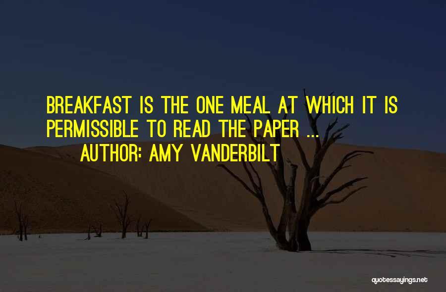 Amy Vanderbilt Quotes 294067