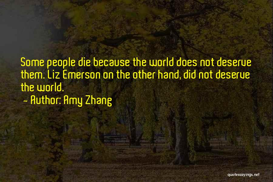 Amy Zhang Quotes 1001938