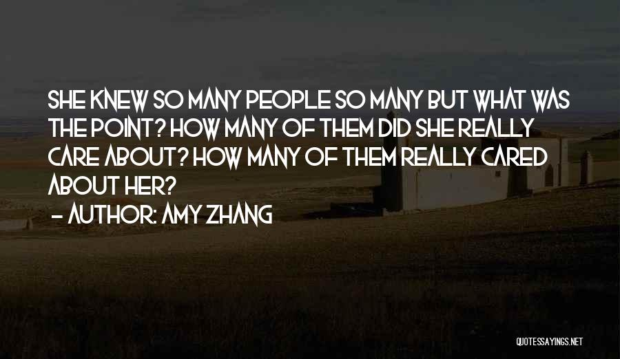 Amy Zhang Quotes 1123469