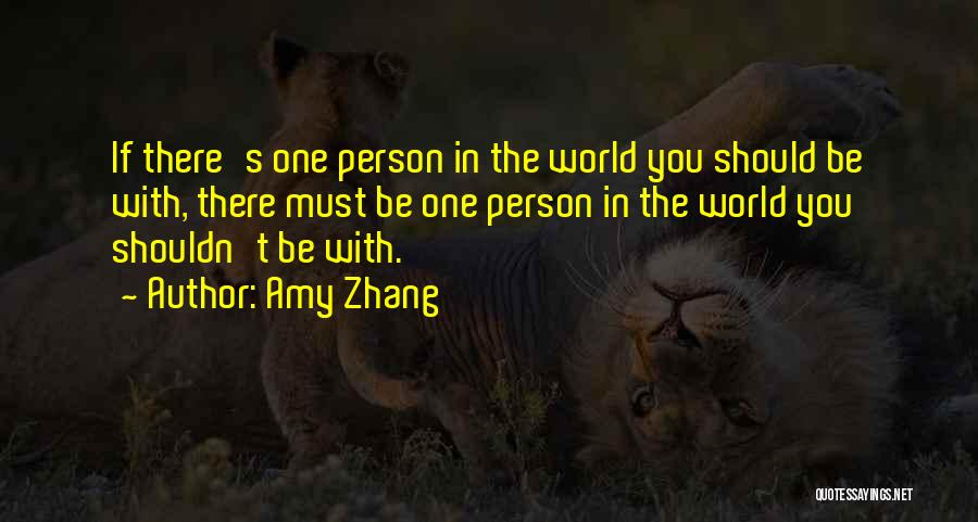 Amy Zhang Quotes 1398498