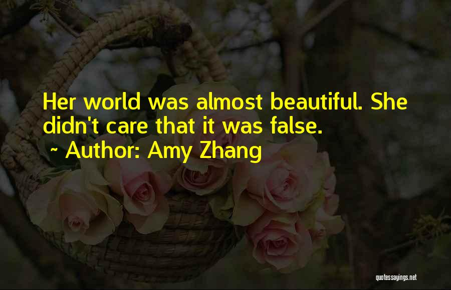 Amy Zhang Quotes 1773476