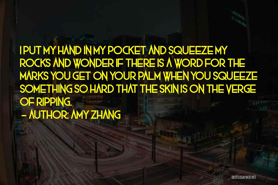 Amy Zhang Quotes 206442