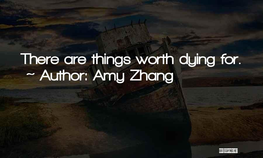 Amy Zhang Quotes 991265
