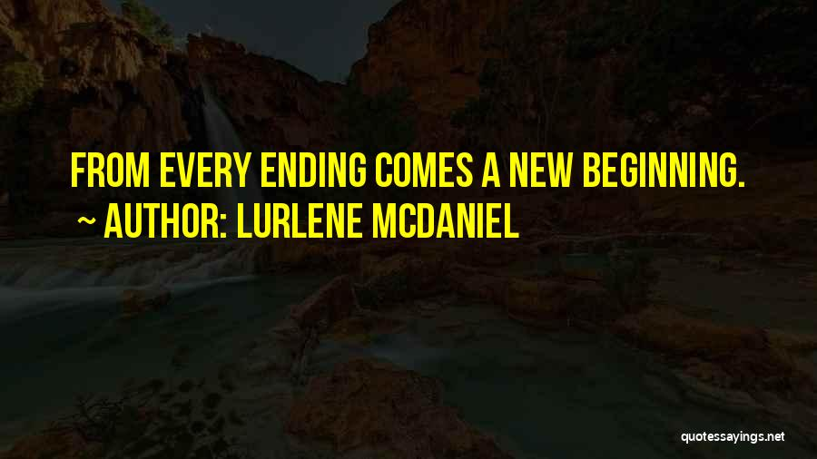 An Ending And New Beginning Quotes By Lurlene McDaniel