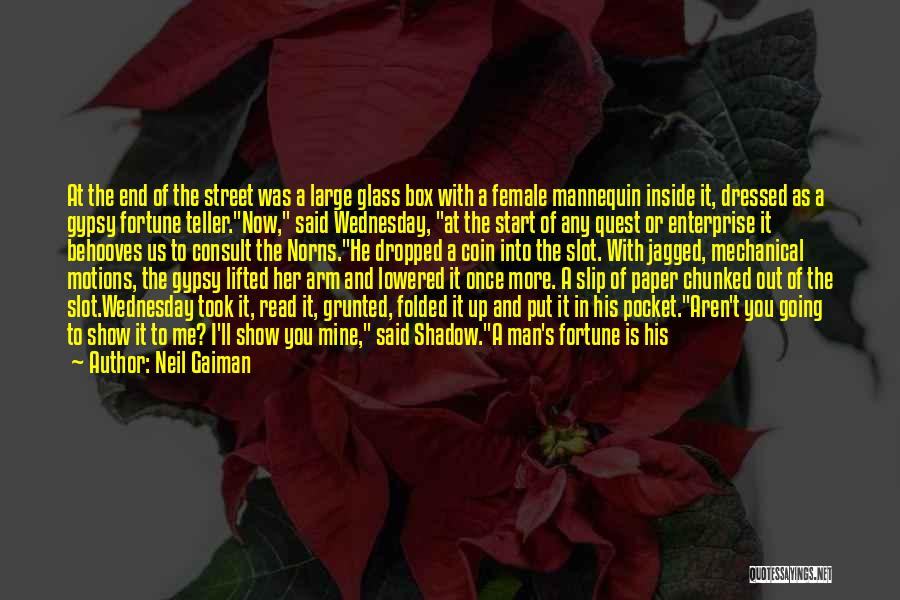 An Ending And New Beginning Quotes By Neil Gaiman