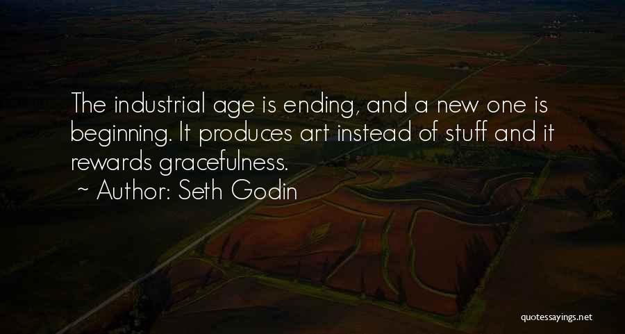 An Ending And New Beginning Quotes By Seth Godin