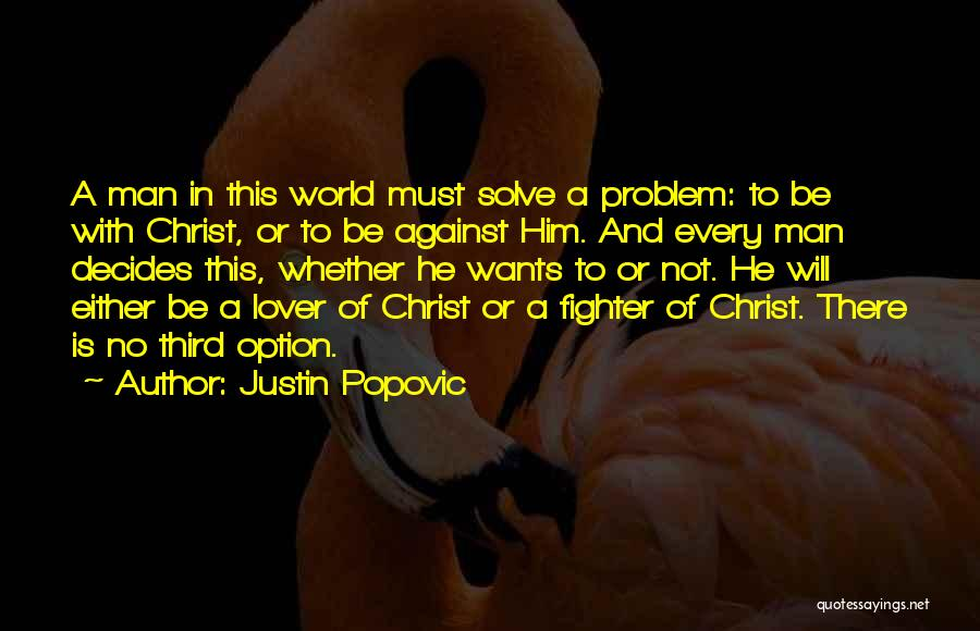 An Ex Lover Quotes By Justin Popovic