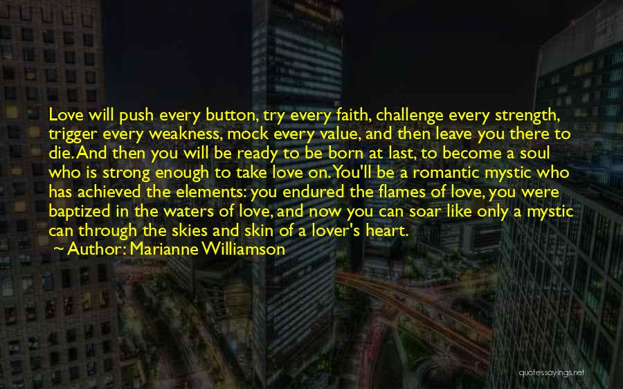 An Ex Lover Quotes By Marianne Williamson