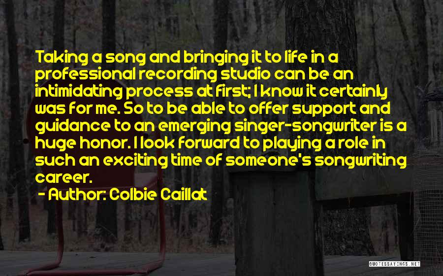An Exciting Life Quotes By Colbie Caillat